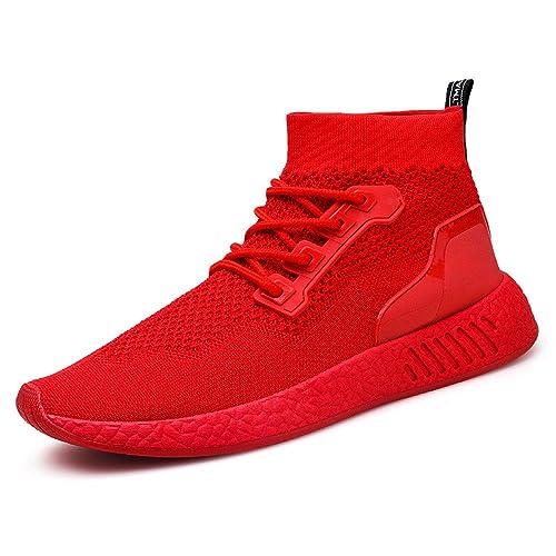 Beladla Zapatillas Deportivas De Mujer Running Trail Gym Sneakers Comodos Zapatos TacóN Calcetines: Amazon.es: Zapatos y complementos