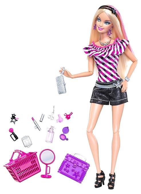 Bambola Barbie Mattel,Fashionistas+accessori Shopping Calzoncini