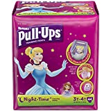 Health & Personal Care : Pull-Ups Night Time Training Pants for Girls, 3T-4T, 42 Count (Pack of 2)