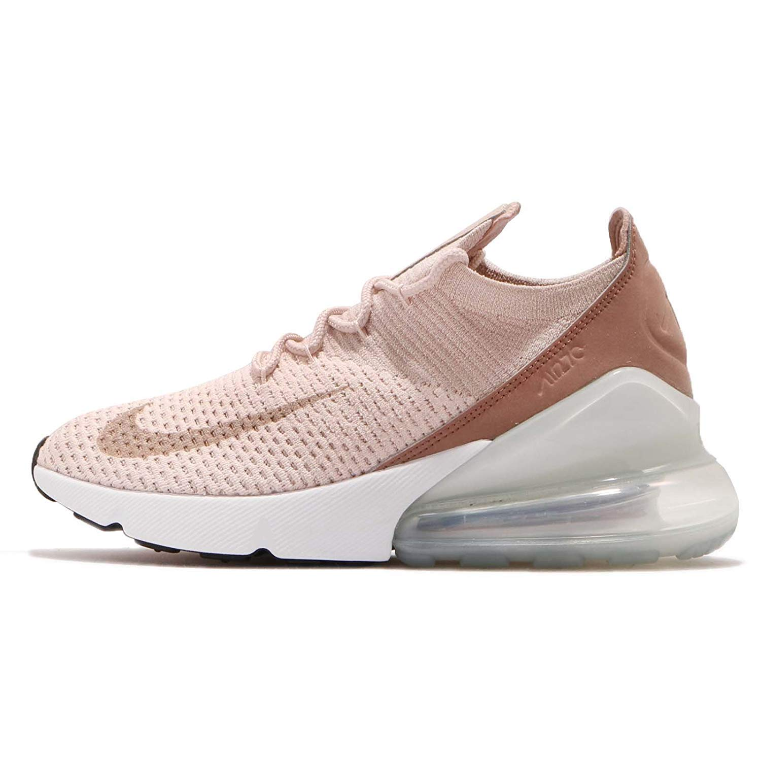 cheap for discount babb9 66aa8 Galleon - Nike Women s WMNS Air Max 270 Flyknit, Guava ICE Particle Beige,  8.5 US