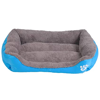 Sex Appealing S-3XL 9 Colors Paw Pet Sofa Dog Beds Waterproof Bottom Soft Fleece