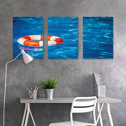 Amazon.com: Graffiti Canvas Painting, Buoy, Life Buoy in ...