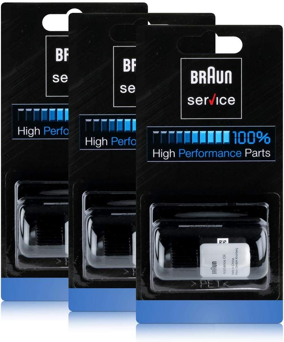 3x Braun Appliance Petróleo por cizalla unidades / cuchillas ...
