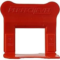Perfect Level Pro - 200 Clips (Bases) 2 Mm Perfectlevel Pro Croisillon Autonivelant Professionnel