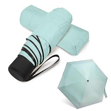 Amazon.com: Paraguas compacto pequeño para viaje, para ...