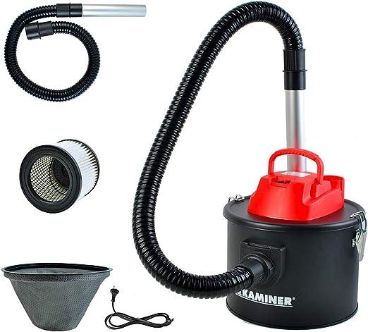 Kaminer Aspirador de cenizas eléctrico con 2 sistema de filtros ...