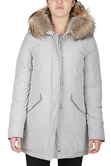 ae8ed20ca67932 Women's Jacket Luxury Parka WOOLRICH WWCPS2131 SM20 1769 Drifter Grey 2/H  FALL WINTER 2017