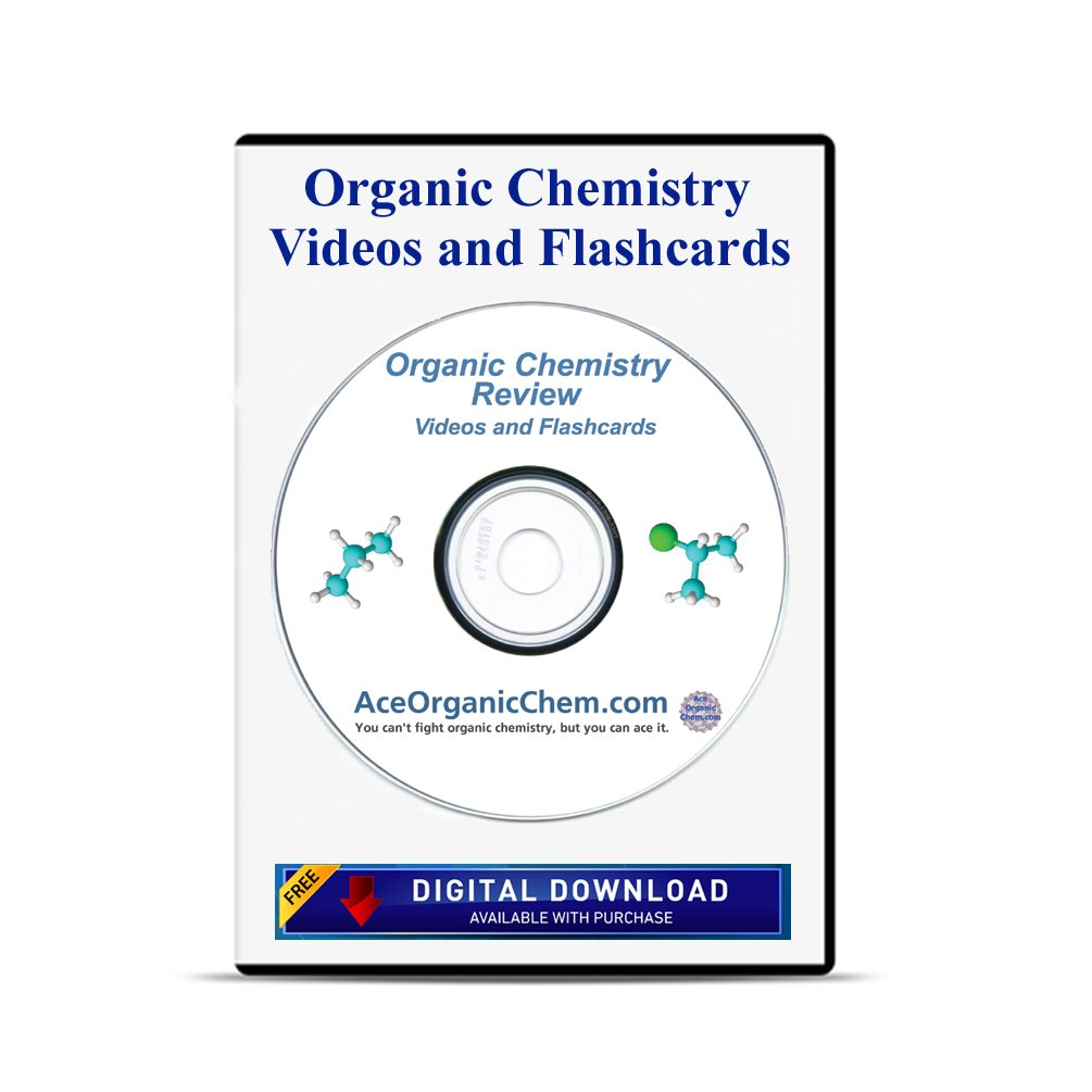 Amazon.com: Condensed Organic Chemistry Help DVD with Digital Download  option- Organic Chemistry Study DVD with Complete Course Review Videos - by  ...