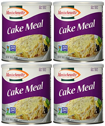 Manischewitz Cake Meal Canister, 16 Ounce Tins (Pack of 4) (The Importance Of Giving Back To Your Community)
