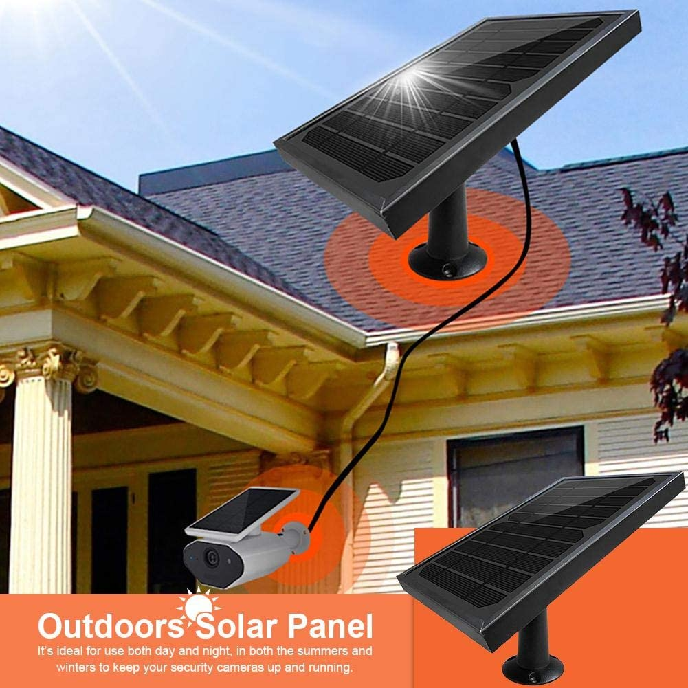 Lancei Outdoors Solar Panel Charger Kit Waterproof Solar Panel for Battery Camera Refrigerator