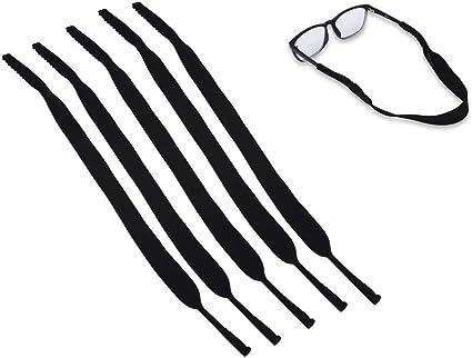 5pcs Elastic Neck Strap Retainer Cord Chain Holder Lanyard for Eyeglasses Glasses Strap
