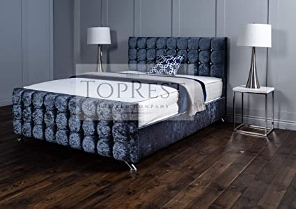 TopRest Modena Somier | Diseño cubito acolchado profundo con ...
