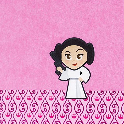 Hallmark Birthday Greeting Card for Girls (Star Wars Princess Leia) Photo #6