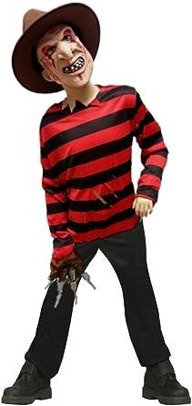 Disfraz de Freddy infantil - Niño, de 9 a 12 años, Halloween ...