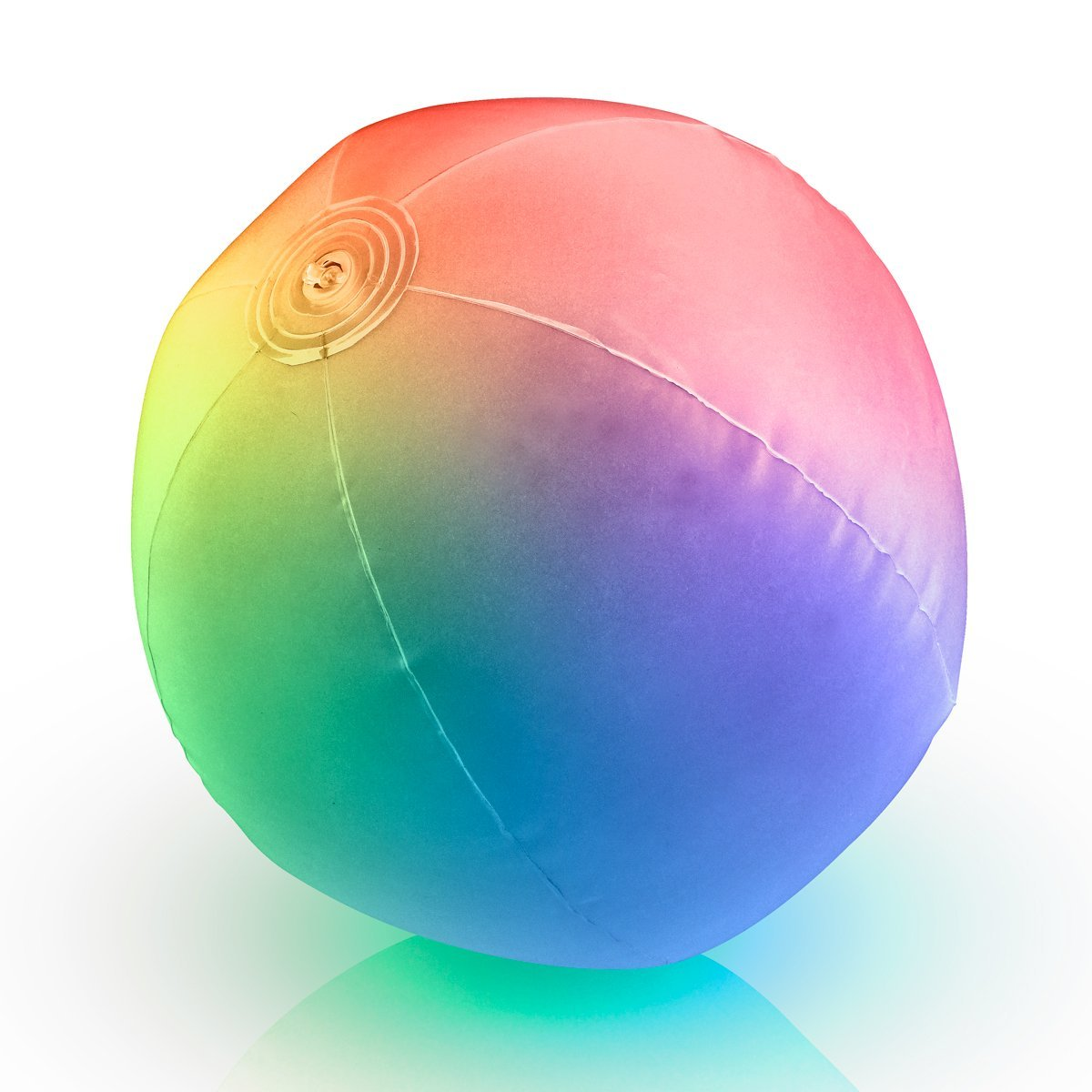 Light Up Beach Ball with Color Changing LED Lights (Set of 12) by FlashingBlinkyLights (Image #6)