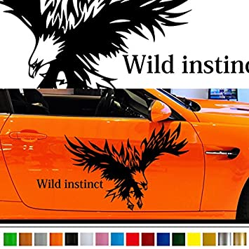 Falcon car sticker car vinyl side graphics pre17 car custom stickers decals 【8 colors to