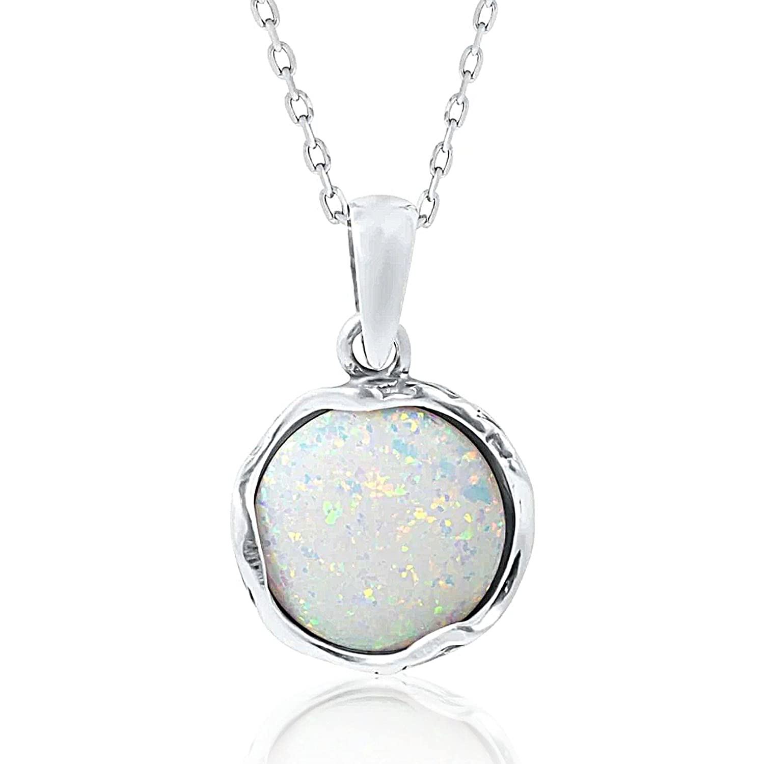 High Quality White Fire Opal CZ Clear Diamond 925 Sterling Silver Star Pendant Necklace Eye Catching Sterling Silver Necklace Love Gift