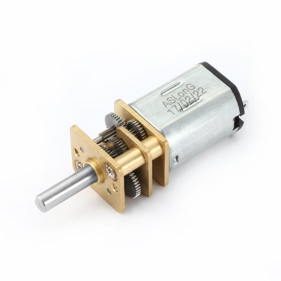 sourcingmap® DC 12V 66RPM moteur réduction vitesse Mini Bouilloire Micro dentée US-SA-AJD-300158