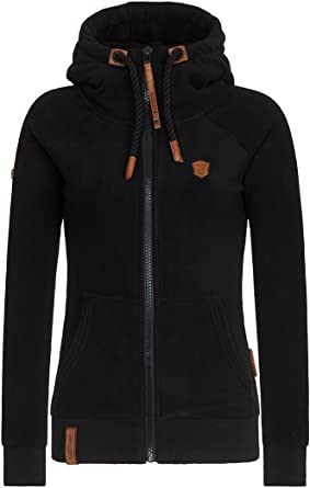 naketano Female Zipped Jacket 'Gigi Meroni V' in lila
