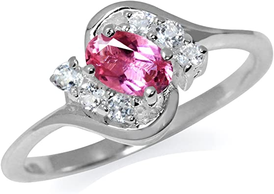 Natural pink Colour Tourmaline 925 Sterling Silver RingSuper Low PriceStack Ring Daily WearLight WeightStatement ring