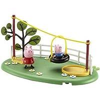 Peppa Pig - Parque de Juegos tirolina (Bandai)