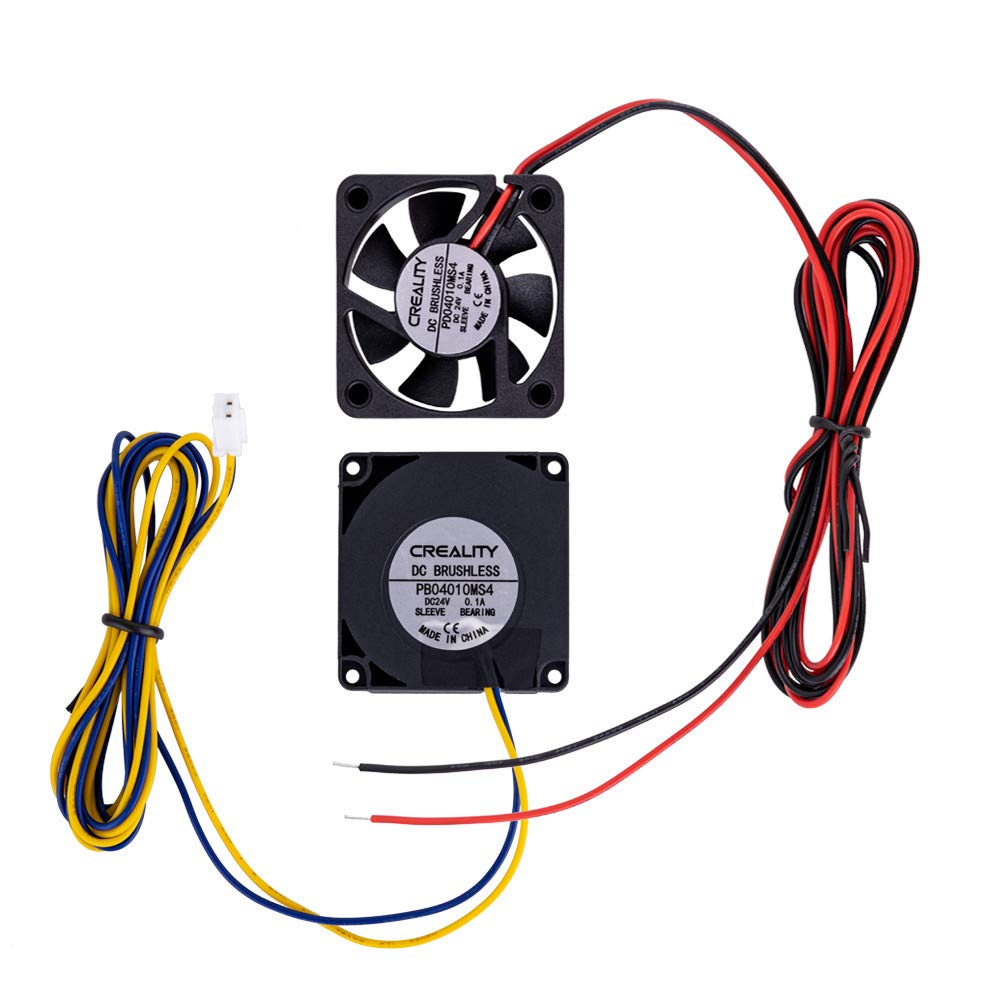 Original Creality Official 4010 Cooling Fan 24V DC Cooling Fan and 24V Circle Fan for 3D Printer Parts Ender 3/Ender 3 Pro