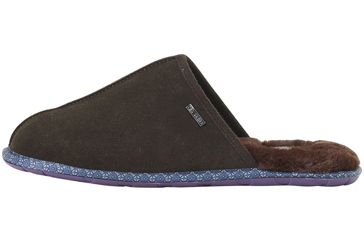 56e5e776c Amazon.com  Ted Baker Men s Youngi-2 Brown Mules Slippers Shoes Sz  8  Shoes