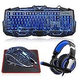 MFTEK Gaming Keyboard Set