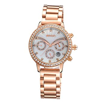 Fashion Ladies Elegance Watch Water Resistant, Womens Classic Leather Watches
