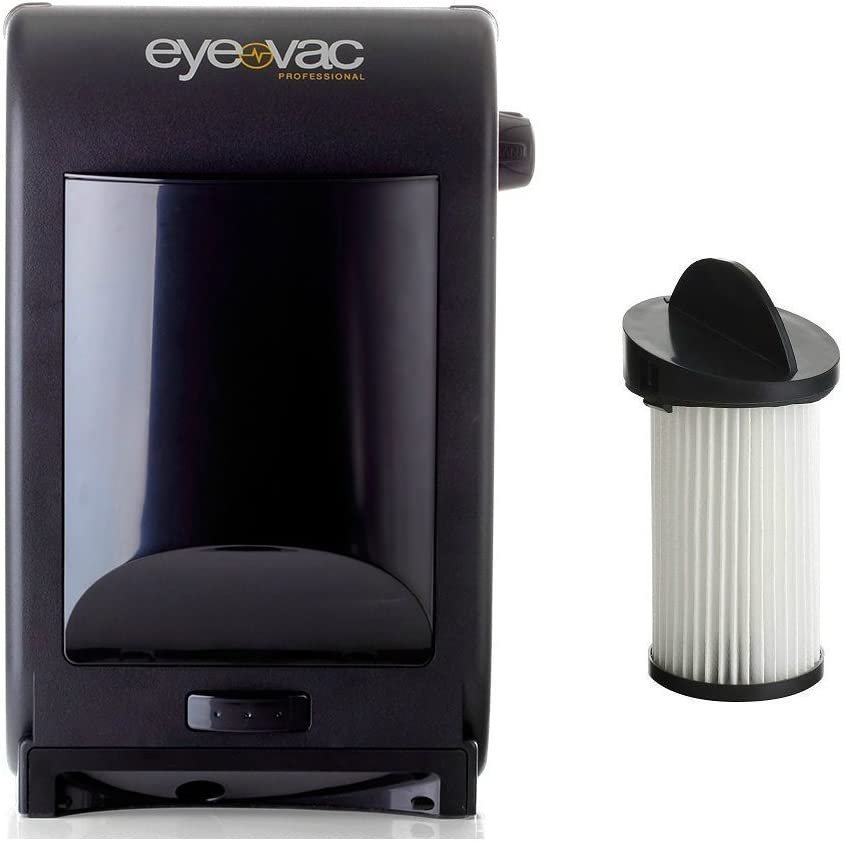 Eye-VAC PRO Black Professional Automatic Touchless Stationary Vacuum VA-00021X