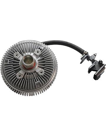 TOPAZ 25790869 Electric Radiator Cooling Fan Clutch for 02-07 Chevy Trailblazer GMC Envoy Oldsmobile
