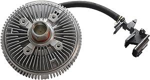 TOPAZ 25790869 Electric Radiator Cooling Fan Clutch for 02-07 Chevy Trailblazer GMC Envoy Oldsmobile Bravada Saab 9-7X