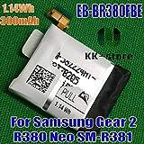 gear watch neo - FidgetGear Original Watch Battery 1.14Wh 300mAh for Samsung Gear 2 Neo SM-R381 Gear 2 R380