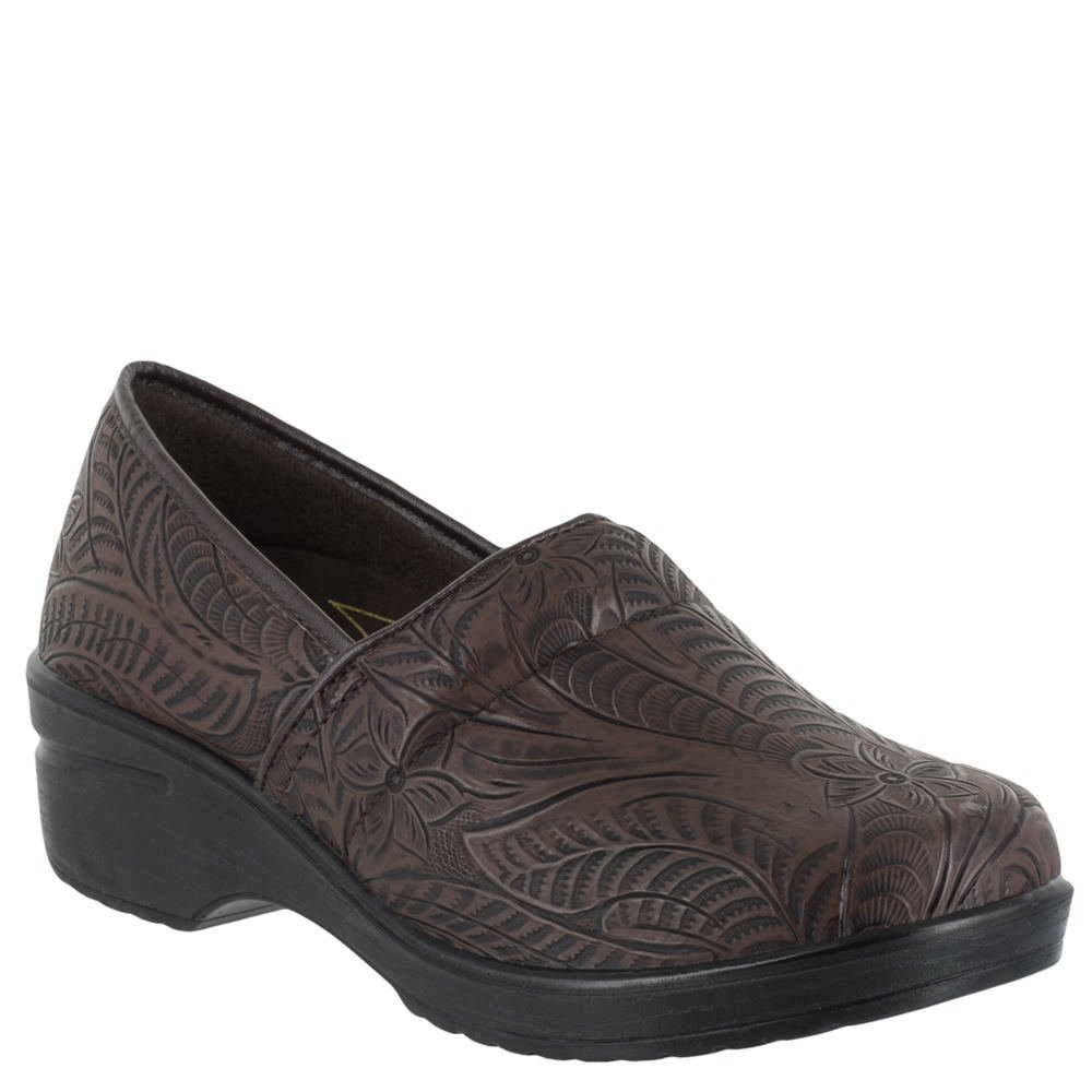 Easy Works Women's Lyndee Health Care Professional Shoe, Brown Tool, 9 M US by Easy Works