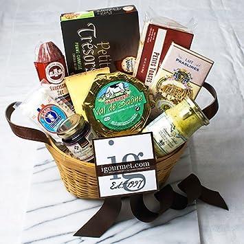 Amazon.com : French Classic Gift Basket (3.1 pound) : Gourmet ...