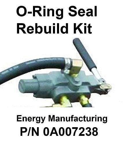 Amazon com: O-Ring Rebuild Kit Hydraulic Control Valve Log Splitter