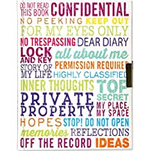 For My Eyes Only Locking Journal (Diary, Notebook)