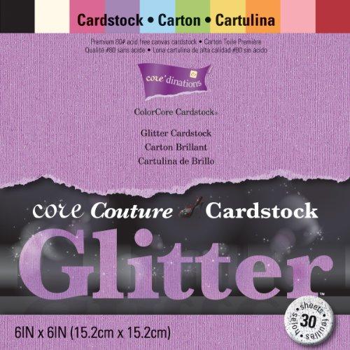 Coredinations Core Couture Cardstock Pkg Glitter
