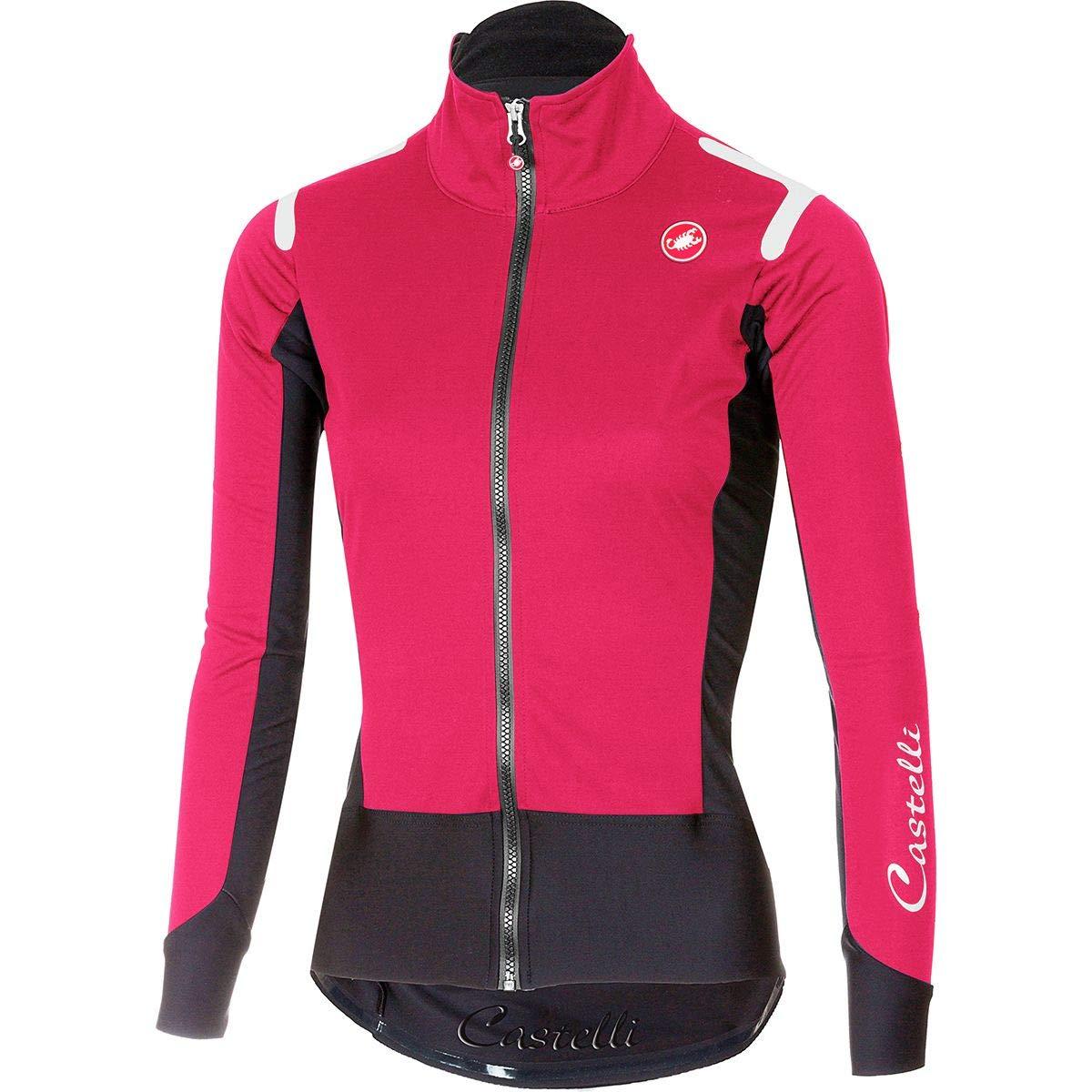 Castelli Alpha ROS Long-Sleeve Jersey - Women's Electric Magenta/Black, XS
