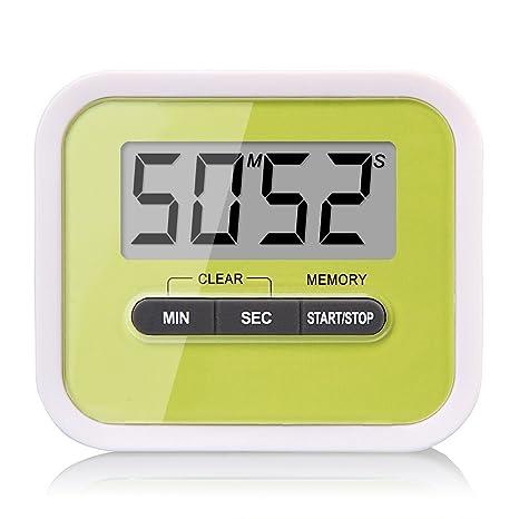 Soter® Mini portátil Digital temporizador de cocina, pantalla LCD count-down/hasta