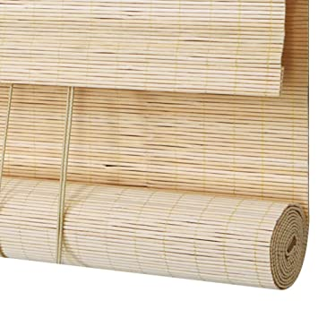Amazon Com Wenzhe Roll Up Window Blind Roller Blind Bamboo Curtain