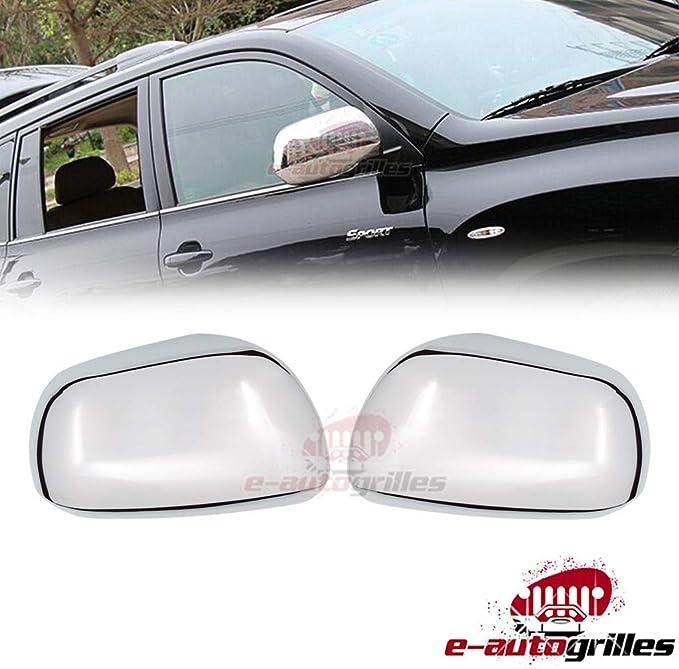 08-12 Toyota Highlander Triple Chrome plated ABS Mirror Cover Trim Bezel Kit