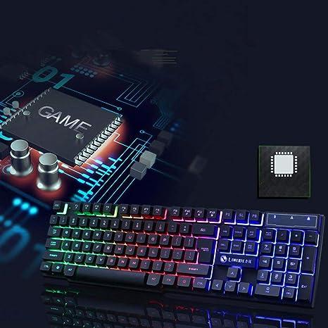 ROCONAT Juego Retroiluminación LED mecánica para PC Kit de ...