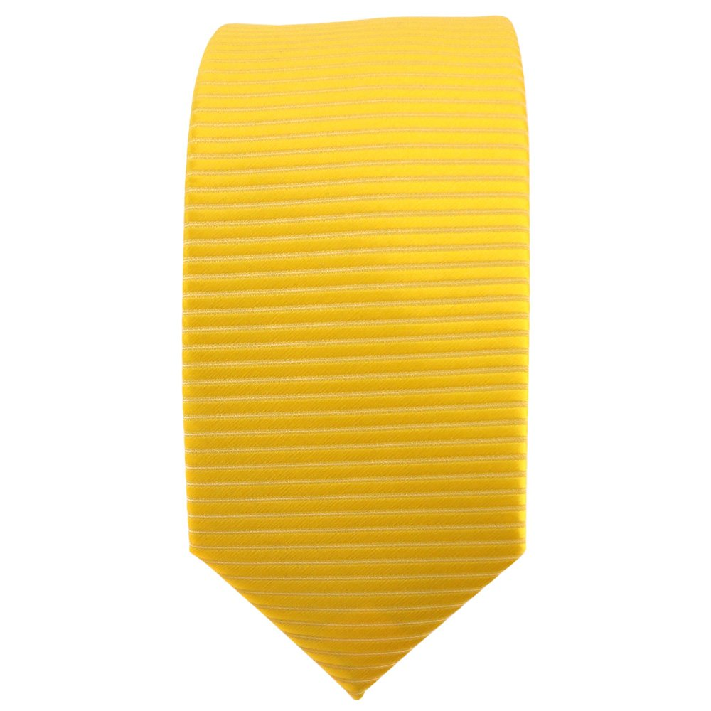 TigerTie - corbata estrecha - amarillo dorado sol amarillo ...