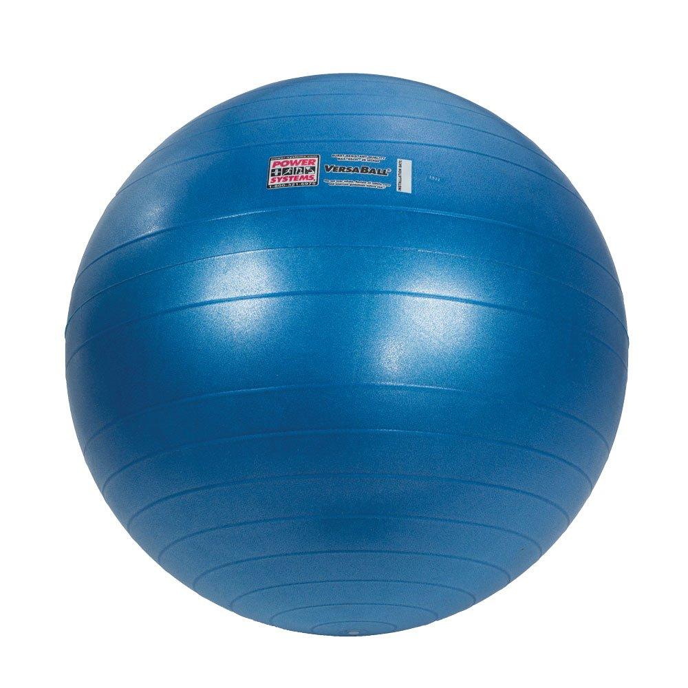Power Systems VersaBall Stability Ball, 65cm, Glacier Blue (80025)