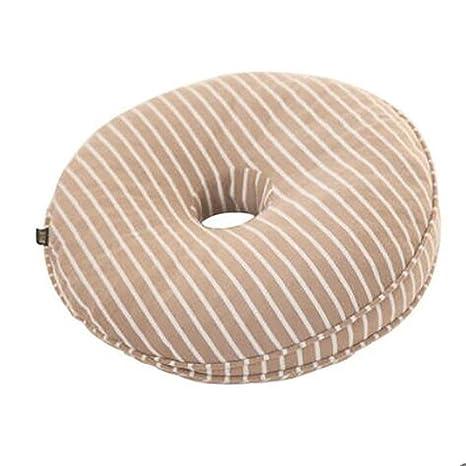 Xuan Hemorroides Cojín Memoria Esponja Soplador Comfort Almohada para Silla De Oficina Coche De Coches Aeroplano