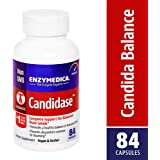 Enzymedica - Candidase, Complete Support for Balanced Yeast Levels, 84 Capsules (FFP)