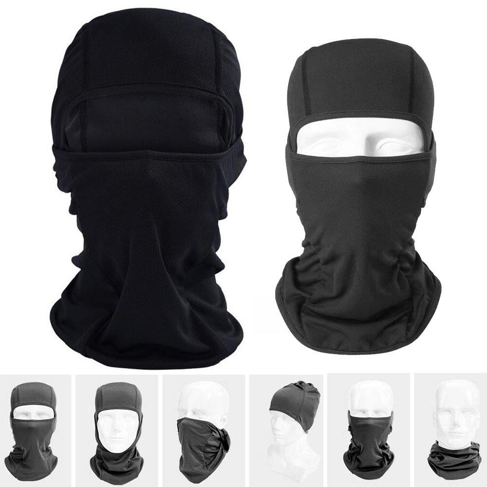 Lezed Balaklava | Masque de masque de moto de bicyclette | É quipement d'é quitation en plein air | Masque de moto masque de tempê te FSMZ