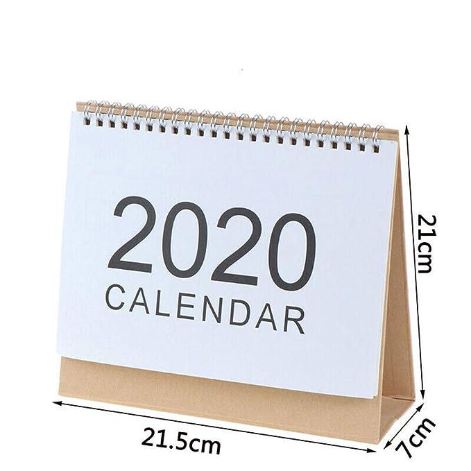 Tireow - Calendario de mesa 2019-2020 - Calendario de escritorio ...