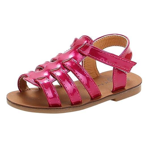 sandalias niña Xinantime Sandalias de verano Toddler Kids Baby Girls Sandalias Sandalias de playa Zapatos de